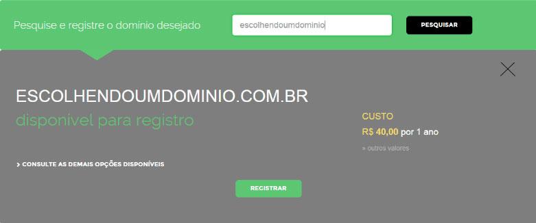 Site do Registro BR