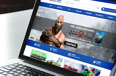 E-commerce de Games
